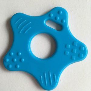 Stjerne bidering med knopper i blå / 1 stk