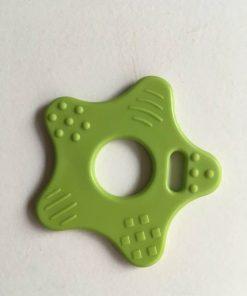Stjerne bidering med knopper i æble grøn / 1 stk
