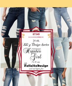 Toppers / Hipster girl / Felicita design