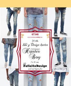Toppers / Hipster boy / Felicita design