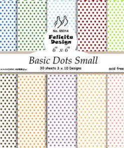Karton / Små prikker / Felicita design