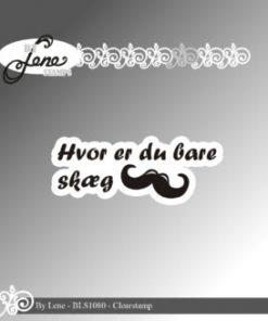 Stempel / Hvor er du bare skæg / By Lene
