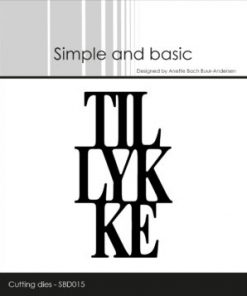 Dies / Tillykke / Simple and basic