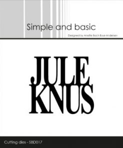 Dies / Jule knus / Simple and basic