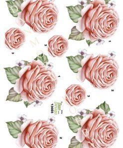 Blomster / Smuk rose / Dan-Design