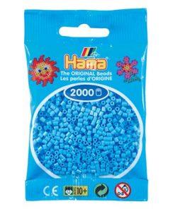 Hama Mini , pastel blå / 501-46