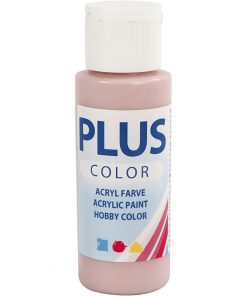 Maling / Plus color hobbymaling / Dusty rose, 60ml