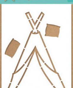 Stencil / Tipi / Marianne design