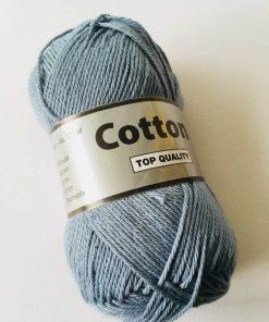 Cotton 8/4 i farven blågrå 839 / Bomuldsgarn