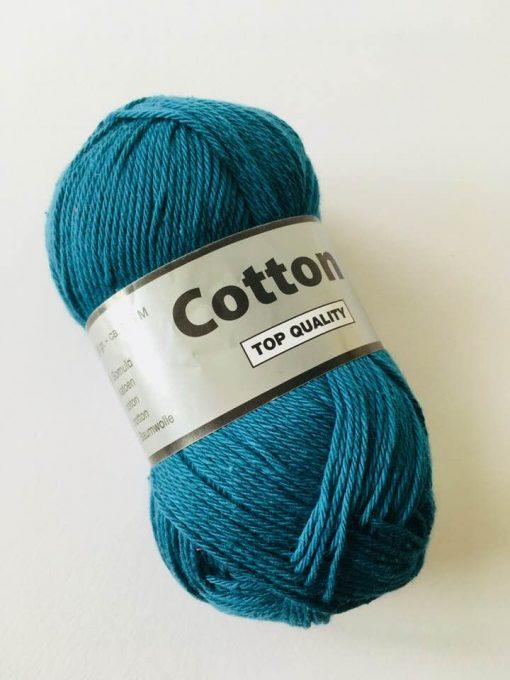 Cotton 8/4 i farven petrol 457 / Bomuldsgarn