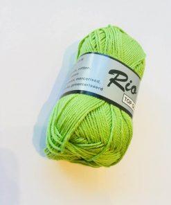 Rio / Merceriseret bomuldsgarn / Kiwi grøn