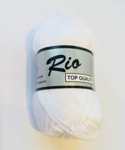 Rio / Merceriseret bomuldsgarn / Hvid