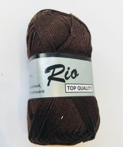 Rio / Merceriseret bomuldsgarn / Mørke brun