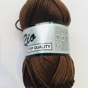 Rio / Merceriseret bomuldsgarn / Brun
