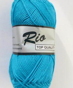 Rio / Merceriseret bomuldsgarn / Smølfe-blå