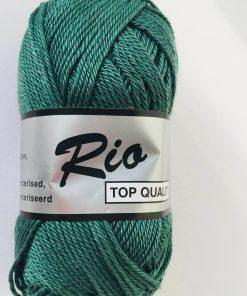 Rio / Merceriseret bomuldsgarn / Støv grøn