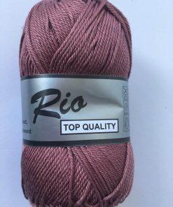Rio / merceriseret bomuldsgarn / Almue rosa