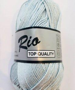 Rio / Merceriseret bomuldsgarn / Sart lyseblå