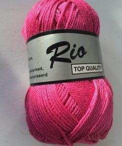 Rio / Merceriseret bomuldsgarn / Pink