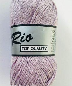 Rio / Merceriseret bomuldsgarn / Lys lilla