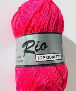 Rio / Merceriseret bomuldsgarn / Mørk pink