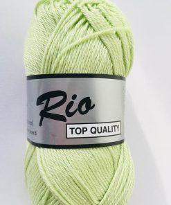 Rio / Merceriseret bomuldsgarn / Sart lysegrøn