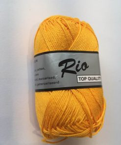 Rio / Merceriseret bomuldsgarn / Sol gul