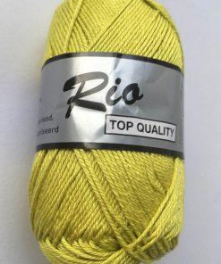 Rio / Merceriseret bomuldsgarn / Lime