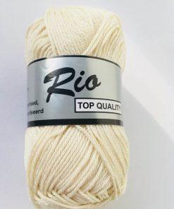 Rio / Merceriseret bomuldsgarn / Beige