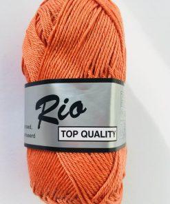 Rio / Merceriseret bomuldsgarn / Brændt orange