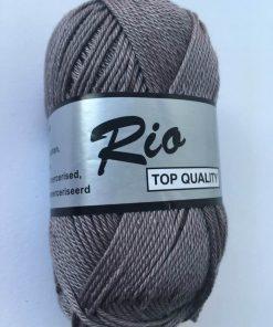 Rio / Merceriseret bomuldsgarn / grå