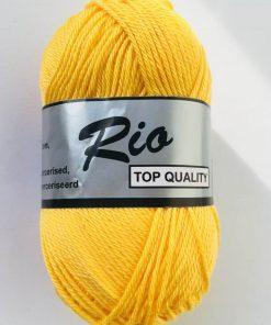 Rio / Merceriseret bomuldsgarn / Gul