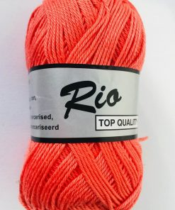Rio / Merceriseret bomuldsgarn / Koral