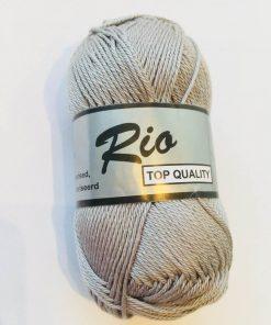 Rio / Merceriseret bomuldsgarn / Lys grå