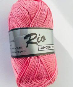 Rio / Merceriseret bomuldsgarn / Lyserød
