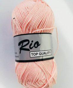 Rio / Merceriseret bomuldsgarn / Sart lyserød