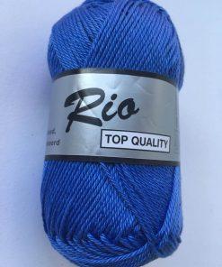 Rio / Merceriseret bomuldsgarn / Korn blå