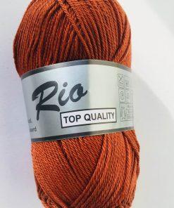 Rio / Merceriseret bomuldsgarn / Rødbrun