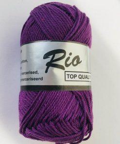 Rio / Merceriseret bomuldsgarn / Lilla