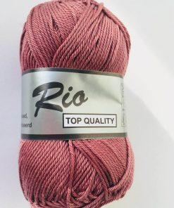 Rio / Merceriseret bomuldsgarn / Gammel rosa