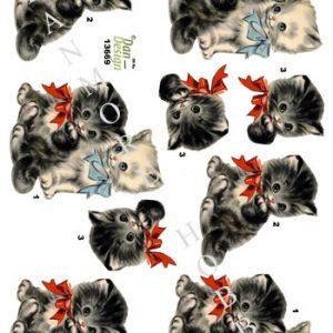 Dyr / Søde killinger / Dan-Design