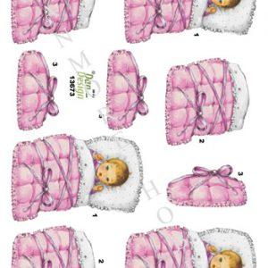 Børn / Sød baby pige / Dan-Design