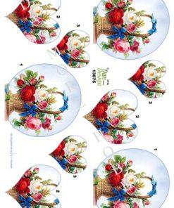 Blomster / Blomster i kurv / Dan-Design