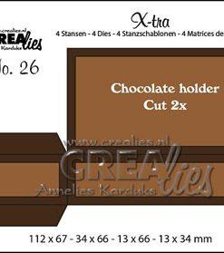 Dies / x-tra 26 til merci chokolade / Crealies