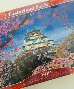 Puzzlespil / Forårs-billede 500 brikker