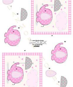 Børn / Baby elefant, lyserød / Dan-Quick
