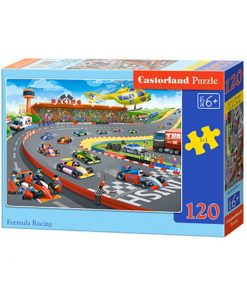 Puzzlespil / Racerbane / 120 brikker