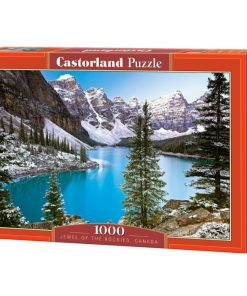 Puzzlespil / Jewel of the rockies, Canada 1000 brikker