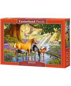 Puzzlespil / Heste i skoven / 1000 brikker
