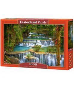 Puzzlespil / Smukt vandfald / 1000 brikker